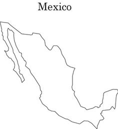 Free Mexico printables to use for lapbooking, notebooking, etc. - school projects.
