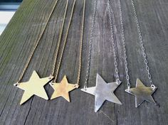 You're a Star Necklace by Bybella on Etsy, $46.00, one of the silver ones!!