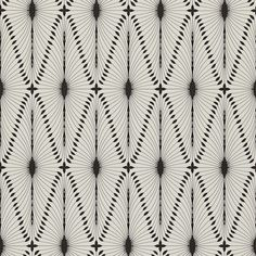 Otto from Harlequin #wallpaper #geometric #black #white