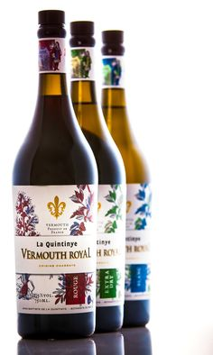 Vermouth Royal France, Rum, Liquor, Herbalism, Beverages, Alcohol, Packaging, Bottle, Seals