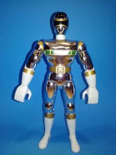Power Rangers in Space Silver Ranger by AtenRaActionFigures