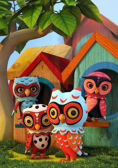 'Owl City' by Teodoru Badiu