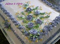 imagens de bolos decorados com chantilly - Pesquisa Google