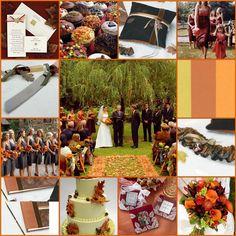 Outdoor Fall Wedding Ideas