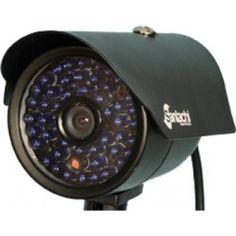 "Analog Bullet IR Cameras SAN-6600 CMOS (Limited Stock):  Key Features: ■Image Sensor: 1/3"" CMOS ■Resolution: 600 TVL ■Lens: 3.6 mm ■IR Range:15 to 20 meters ■IR LEDs Unit: 48 IR LEDs ■Weather proof Standard: IP 66 ■Power: DC 12V ± Max. 2.5A"