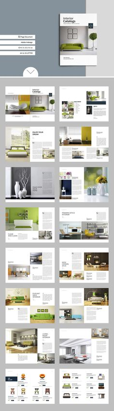 Brochure / Catalogs / Portfolio by tujuhbenua on @creativemarket