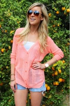 Sassy Spring and Summer Sweaters