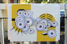 Despicable Me 2 Party Games | The Crafty Crazy: Despicable Me Minion pin the tail on the donkey type of game
