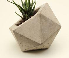#geometric #concrete #planter