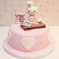 Hello Kitty Cook Cake