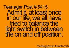 Teenager post :)