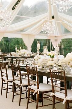 Wedding Decor: Gorgeous and Romantic Atmosphere //  via Bridal Guide