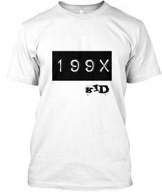 199 X Kid White T-Shirt Front