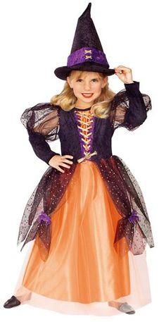 Little Princess Child's Pretty Witch Costume