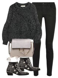 """""""Untitled #1759"""" by sophiasstyle ❤ liked on Polyvore featuring Proenza Schouler, Letters By Zoe and Chloé"""