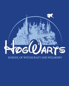 Disneyesque Hogwards