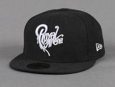 Logo Black 59Fifty Fitted Baseball Cap by ROYAL ARENA x NEW ERA