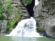 The Falls At Mine Kill State Park