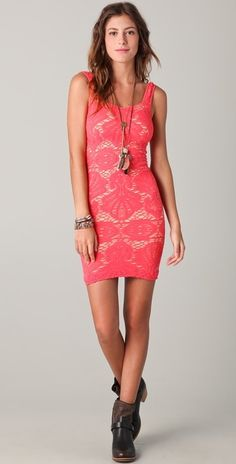 @freepeople #Seamless #Sweetheart #Slip #Dress the color to turn heads and feel like you have incredible power