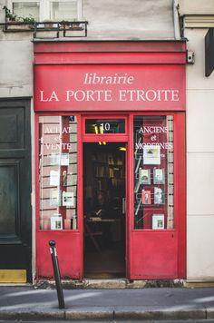 Librería en París, Francia