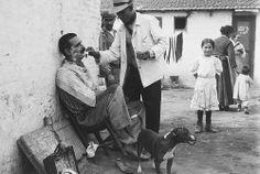 Branguli - Un barbero en el barrio de Somorostro, #Barcelona, en 1915