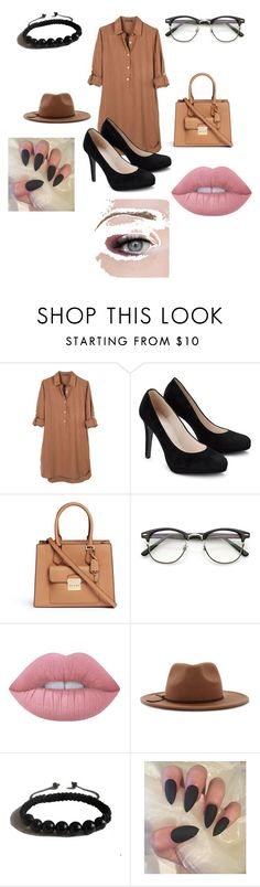 """Untitled #128"" by dariana-stoiu on Polyvore featuring United by Blue, Michael Kors, Lime Crime, Forever 21 and Shamballa Jewels"