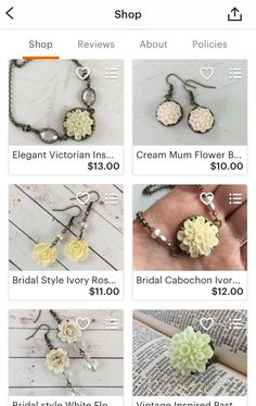 Wedding season is just around the corner! We love working with brides and making custom jewelry for their special day. We specialize in necklaces, earrings, rings, and jewelry storage.