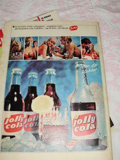 Jolly cola reklame - et sjovt billede på - Sjove-billeder.dk