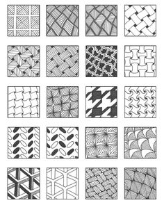 grid 4 | Flickr - Photo Sharing! – Emily Perkins Zentangle