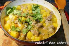 Borrego marroquino c/ batata doce | ratatui dos pobres