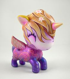 """More Love For You""  5 inch Unicorno figure ©Jeremiah Ketner 2013"