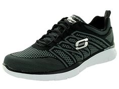 Skechers Mens EqualizerNo Limits BlackCharcoal Training Shoe 105 Men US >>> Click image to review more details.