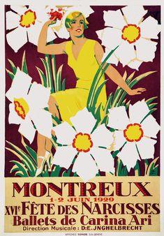 Courvoisier Jules - Fête des Narcisses Montreux