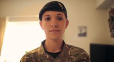 This is Hannah Winterbourne, of the Royal Electrical Mechanical Engineers. She is the first transgender officer in the British army. | Meet The First Transgender Officer In The British Army - BuzzFeed News