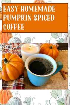 Gluten Free Recipes, My Recipes, Pumpkin Spice Coffee, Goodies, Homemade, Vegan, Fruit, Vegetables, Easy