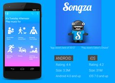 app review songza designer recipes medium