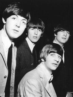 Paul McCartney, George Harrison, John Lennon, and Richard Starkey