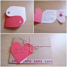 Como ya os dije el martes, la tradición marca que febrero sea el mes del amor, y como este blog va de amor ( sobre todo amor a las bodas y al DiY) pues tendremos ideas DiY de cara a San Valentin. H…