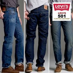 Levi's 501 Student Fit Jeans - Limited Supply!