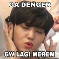 Blackbangtan X Exovelvet Shipper ! Bts Meme Faces, Memes Funny Faces, Funny Kpop Memes, Cute Memes, Foto Meme, K Meme, Single Memes, Seventeen Memes, Lucas Nct