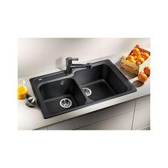 Chiuveta Granit Blanco Classic 8 Sampanie 860 x 500 mm Blanco Sinks, Bowl Sink, Stainless Steel Sinks, Mixer Taps, Kitchen Sink, Home Kitchens, Chrome, Classic