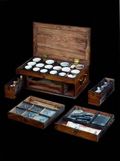 Late 18th Century Chinese Export Paint Box