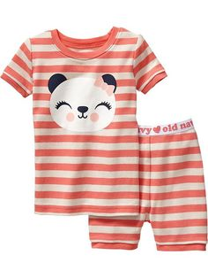 Panda PJ Sets for Baby Product Image