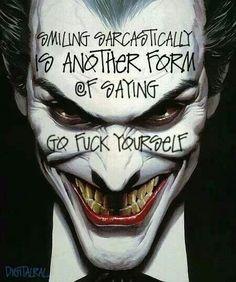 ♥ the Joker... Just saying.