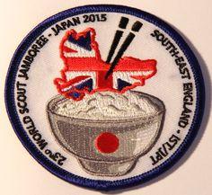 South-East England IST/JPT fund raising badge
