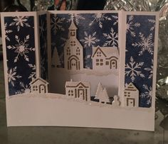 "Modified Stampin'Up ""Hearts Come Home"" 3-D folding card. Inspiration from StampinwithSandi :-)"