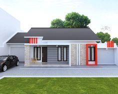 Rumah Minimalis Sederhana Type 45 1 Lantai Tampak Depan