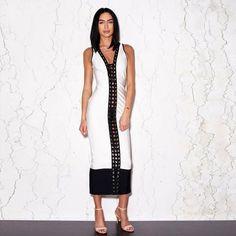 Sexy Women Summer Bandage Dress.  $ 103.88  22pink.com/collections/dresses/products/sexy-women-summer-bandage-dress  #Sexydress #Women #Summer #Bandagedress #Whitedress #Sexydress
