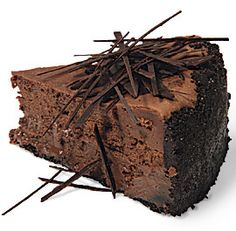 THE BEST chocolate cheesecake....decadent, rich, creamy, no fail. The crust makes it sinful and DE-lish.