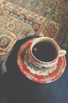 """""""A lovely cup of coffee. One of my favorite things."""" http://www.coffeeaddict.us/"""